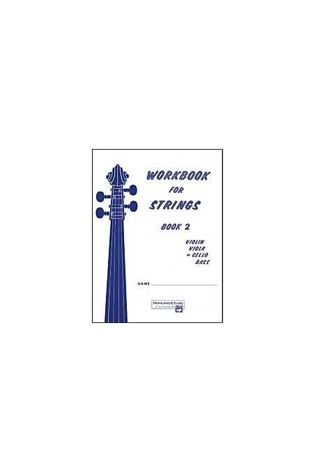 Workbook for Strings Book 2 (Cello)