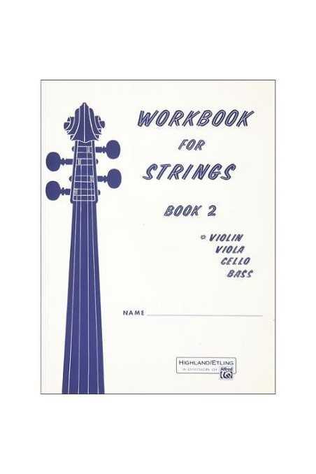 Workbook for Strings Book 2 (Violin)