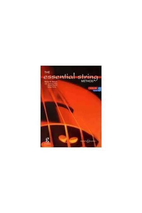 Essential String Methods for violin book3