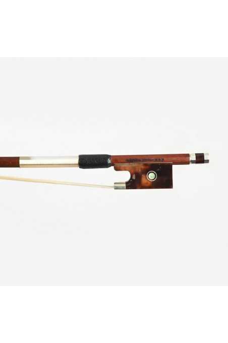 Dorfler Violin Bow - 25 Pernambuco Wood - Genuine Silver Trimming - Master Bow - Round