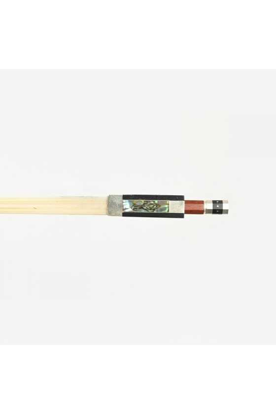 Dorfler Violin Bow - 22 Pernambuco Wood - Genuine Silver Trimming - Master Bow - Round