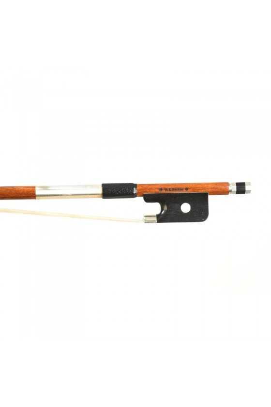 Dorfler Viola Bow - 20 Pernambuco Wood - Genuine Silver Trimming - Master Bow - Round