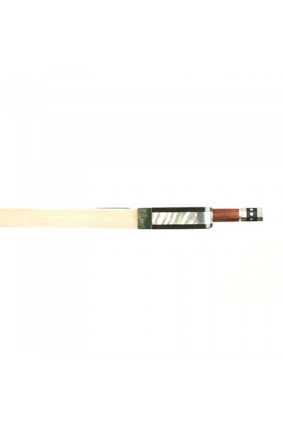 Dorfler Viola Bow - 21 Pernambuco Wood - Genuine Silver Trimming - Master Bow - Round