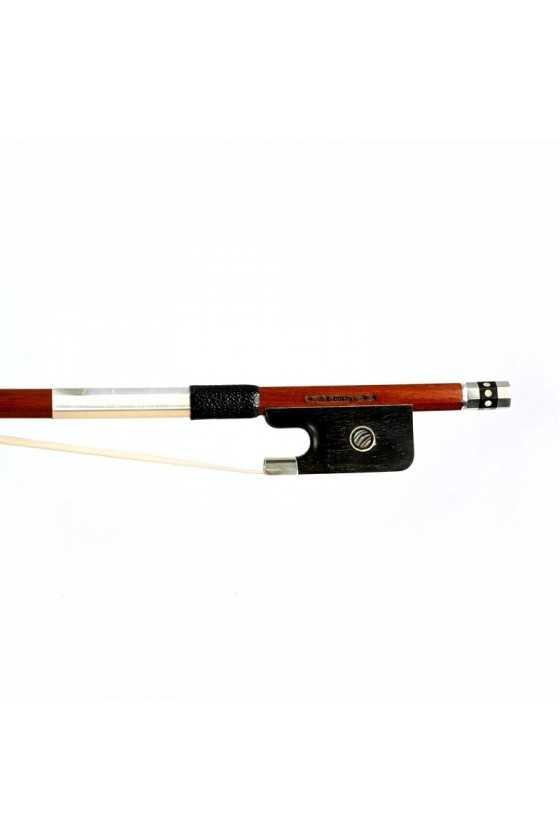 Dorfler Cello Bow - 21 Pernambuco Wood - Genuine Silver Trimming - Master Bow - Round