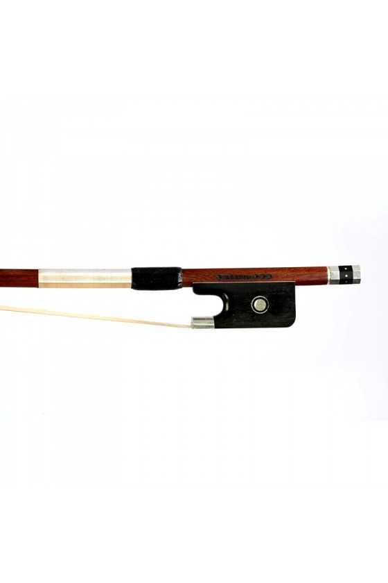 Dorfler Cello Bow - 22 Pernambuco Wood - Genuine Silver Trimming - Master Bow - Round