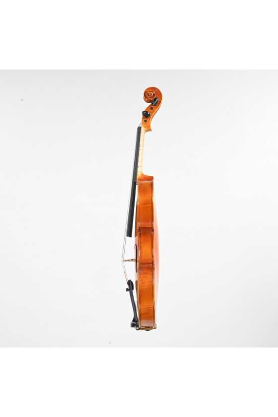 Signed by Scrollavezza 1956 Violin Left Side