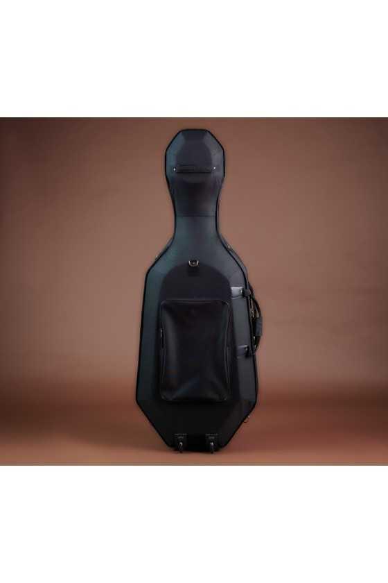 Semi Hard Cello Case With Red Interior