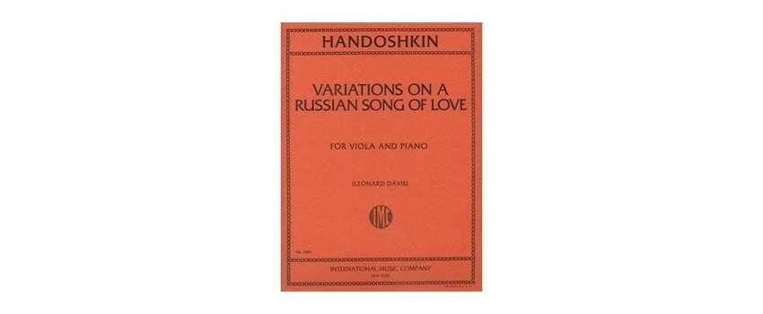 Viola Compositions of Ivan Evstafeivich Khandoshkin | Animato Strings