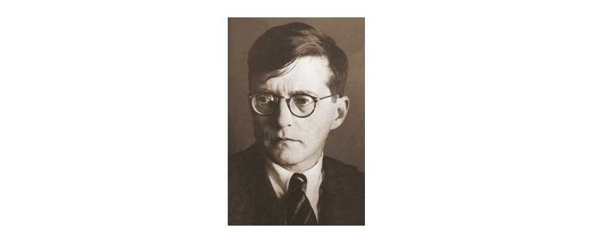 Compositions of Russian Pianist and Viola Player Dmitri Shostakovich