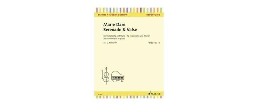 Cello Compositions of Marie Dare | Animato Strings