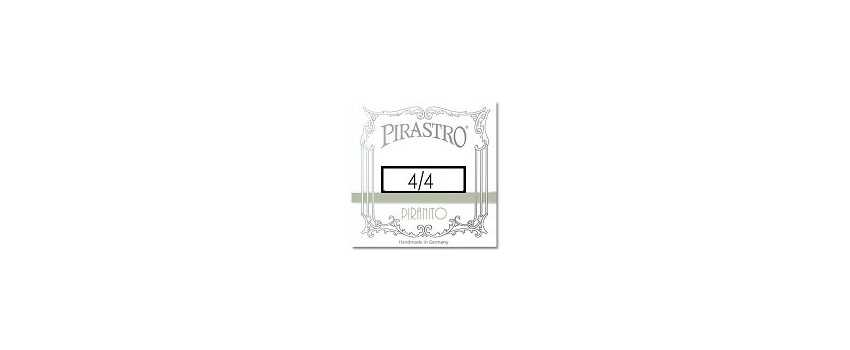 4/4 Size Piranito Violin Strings | Animato Strings