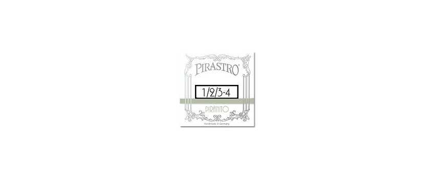 1/2-3/4 Size Piranito Violin Strings | Animato Strings