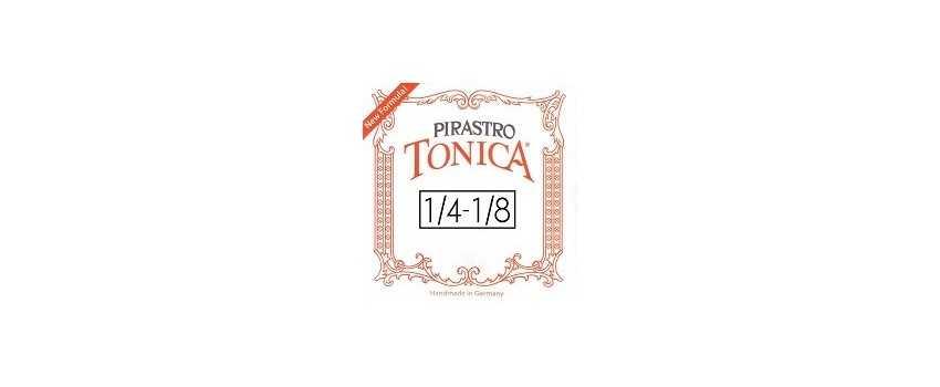 1/4- 1/8 Size Tonica Violin Strings | Animato Strings