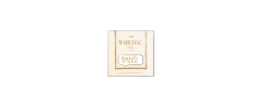 Warchal 'Amber' Violin Strings | Animato Strings