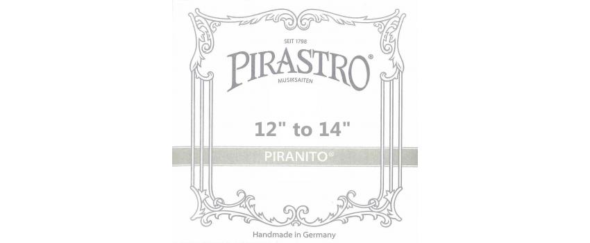 1/2-3/4 Piranito Viola Strings | Animato Strings