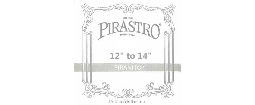 1/2-3/4 Piranito Viola Strings | Animato Strings