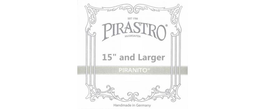 4/4 Piranito Viola Strings | Animato Strings