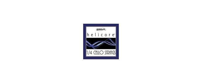 1/4 Helicore Cello Strings | Animato Strings