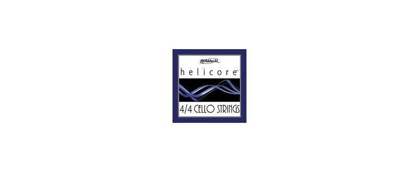 4/4 Helicore Cello Strings | Animato Strings