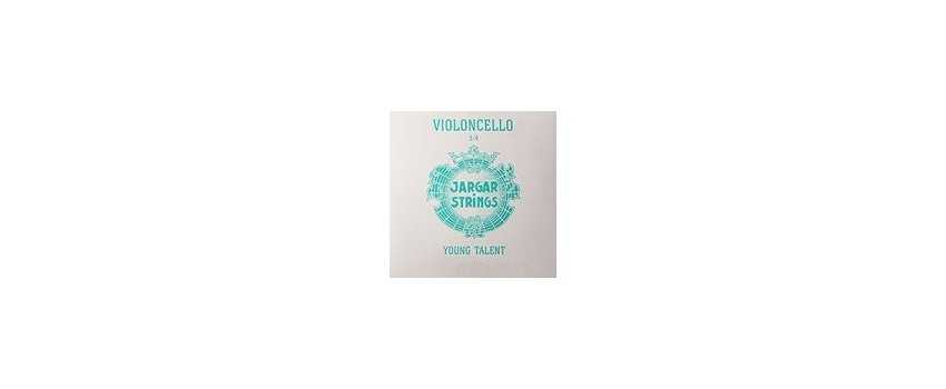 1/2 Jargar Young Talent Cello Strings | Animato Strings