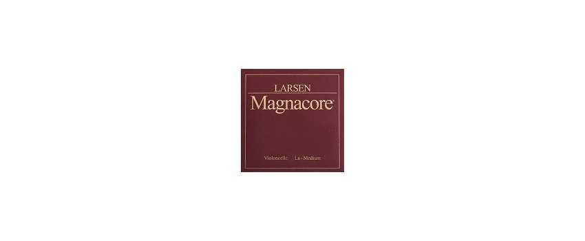 4/4 Size Larsen Magnacore Cello Strings   Animato Strings