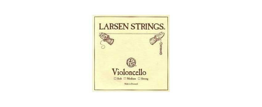 4/4 Size Larsen Medium Cello Strings | Animato Strings