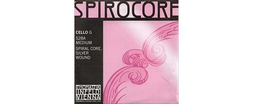 4/4 Size Spirocore Silver Wound | Animato Strings