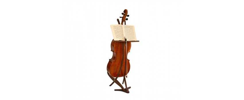 Cello Stand and Bow Hanger | Animato Strings