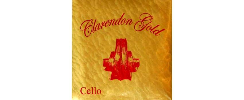 Clarendon Gold Strings for Cello
